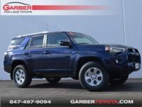 2018 Toyota 4Runner Nautical Blue Metallic New vehicle