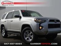 2018 Toyota 4Runner Classic Silver All Weather Floor
