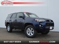 2018 Toyota 4Runner Nautical Blue Metallic All Weather