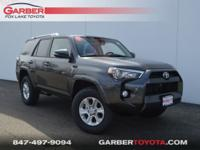 2018 Toyota 4Runner Magnetic Gray Metallic All Weather