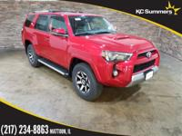Barcelona Red Metallic 2018 Toyota 4Runner TRD Off-Road
