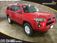 Barcelona Red Metallic 2018 Toyota 4Runner SR5 Premium
