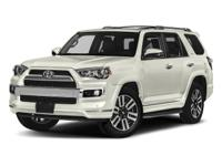 Leather. Recent Arrival! 2018 Toyota 4Runner White