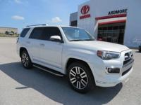 Sand Bei Leather. 2018 Toyota 4Runner Limited 4D Sport