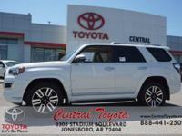 Sand Bei. Blizzard Pearl 2018 Toyota 4Runner Limited 4D