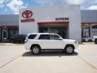 White 2018 Toyota 4Runner SR5 Premium RWD 5-Speed
