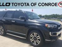 Black 2018 Toyota 4Runner Limited  Let the team at