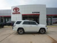 Pearl 2018 Toyota 4Runner Limited RWD 5-Speed Automatic