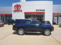 Blue 2018 Toyota 4Runner SR5 RWD 5-Speed Automatic with