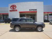 Gray 2018 Toyota 4Runner SR5 RWD 5-Speed Automatic with
