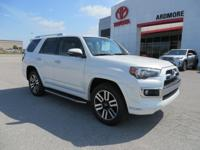 4WD, Sand Bei Leather. 2018 Toyota 4Runner Limited 4D