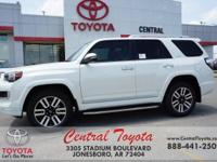 4WD, Sand Bei. Blizzard Pearl 2018 Toyota 4Runner