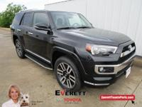 4WD.  Recent Arrival! 2018 Toyota 4Runner Limited