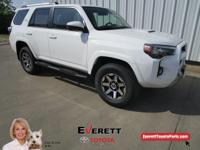 4WD.  Recent Arrival! 2018 Toyota 4Runner TRD Off-Road