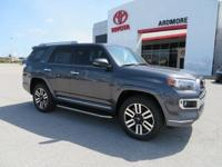 4WD, Redwood Leather. 2018 Toyota 4Runner Limited 4D