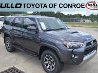 Gray 2018 Toyota 4Runner TRD Off-Road  Let the team at