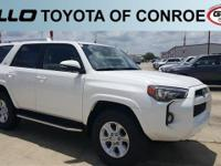White 2018 Toyota 4Runner SR5 Premium  Let the team at