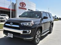 New Price! Black 2018 Toyota 4Runner Limited 4WD