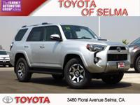 New Price! 2018 Toyota 4Runner 4D Sport Utility Silver