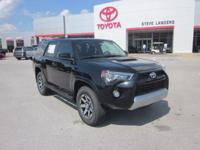 Recent Arrival! 2018 Toyota 4Runner TRD Off-Road 4.0L