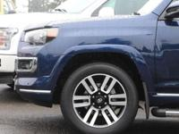 Nautical Blue Metallic 2018 Toyota 4Runner Limited 4WD