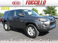 This 2018 Toyota 4Runner SR5 2WD is offered to you for