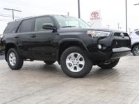 4-Wheel Drive. This 4Runner  has many valuable options!