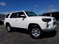 White 2018 Toyota 4Runner SR5 4WD 5-Speed Automatic