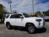 White 2018 Toyota 4Runner TRD Off-Road 4WD 5-Speed