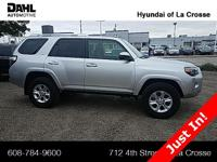 2018 Toyota 4Runner SR5 CARFAX One-Owner. Clean CARFAX.