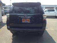 Midnight Black 2018 Toyota 4Runner SR5 4WD 5-Speed