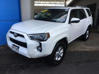 This outstanding example of a 2018 Toyota 4Runner TRD