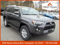 Magnetic Gray Metallic 2018 Toyota 4Runner SR5 4WD
