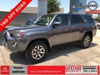 CARFAX One-Owner. Clean CARFAX. Gray 2018 Toyota
