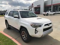 Super White 2018 Toyota 4Runner TRD Off-Road 4WD