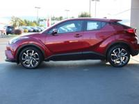 Certified. Ruby Flare Pearl 2018 Toyota C-HR XLE