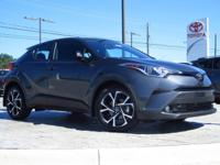 This C-HR  has many valuable options! Bluetooth