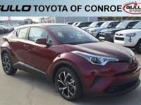Red 2018 Toyota C-HR XLE 31/27 Highway/City MPG  Let