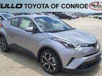 Silver 2018 Toyota C-HR XLE 31/27 Highway/City MPG  Let
