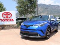 CARFAX One-Owner. Clean CARFAX. Blue 2018 Toyota C-HR