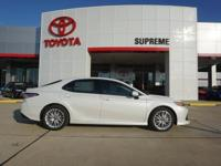 Leather. Join us at Supreme Toyota! Get ready to ENJOY!
