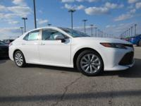 For a smoother ride, opt for this 2018 Toyota Camry LE