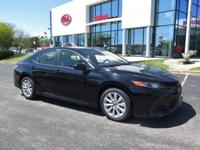 New Price! CARFAX One-Owner. Clean CARFAX. Black 2018