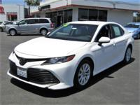 Options:  2018 Toyota Camry Le|This Vehicle Has A 2.5L