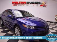 Options:  2018 Toyota Camry Le|Miles: 18867Color: Blue