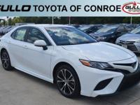 White 2018 Toyota Camry SE  Let the team at Gullo