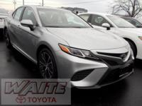 2018 Toyota Camry SE 39/28 Highway/City MPG Waite