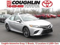 2018 Toyota Camry SE 8-Speed Automatic Celestial Silver