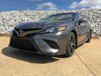 Gray 2018 Toyota Camry SE FWD 8-Speed Automatic 2.5L I4