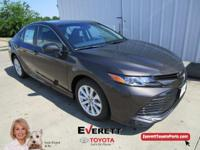 Recent Arrival! 2018 Toyota Camry LE Graphite 2.5L I4